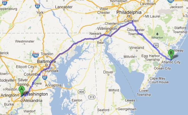 11-Washington-Atlantic City, 312 km